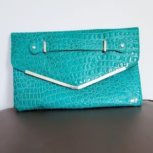 Teal Clutch by Charming Charlie